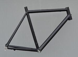 MARCELLO Rennrad Rahmen Strada RH 61 cm Aluminium in schwarz matt 1545g