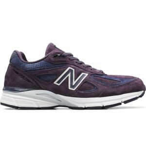 quality design a03cd 9ff4b Details about New Balance 990v4 Made In USA # M990EP4 Purple & Navy Men SZ  8 - 13