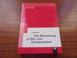 Edith Kindermann Die Abrechnung in Ehe- und Familiensachen - Achim, Deutschland - Edith Kindermann Die Abrechnung in Ehe- und Familiensachen - Achim, Deutschland