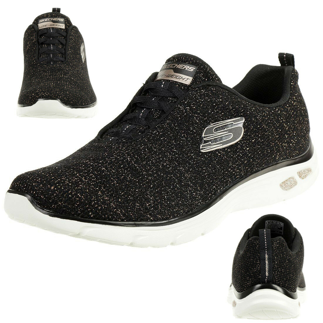 Skechers Relaxed Fit empire d 'lux-Burn Bright femmes Turnchaussures AIR COOLED 12822