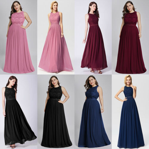 Ever-Pretty UK Wedding Bridesmaid Dresses Formal Cocktail Evening Prom Gown 8-26