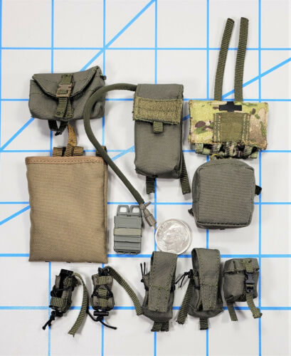 Damtoys FBI Special Weapons and Tactics Special Weapons and Tactics Team Pochette Lot 1//6 Jouets soldeir DID