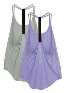 a3d53a86b880c2 Image is loading icyzone-Workout-Tank-Top-for-Women-Athletic-Yoga-
