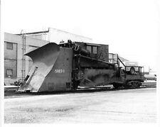 6DD201 RP 1977 NORFOLK & WESTERN RAILROAD PLOW JORDAN SPREADER 50038 BELLEVUE OH