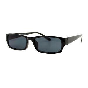 be7ac24066c Image is loading Small-Rectangular-Sunglasses-Unisex-Plastic-Frame-Spring- Hinge-