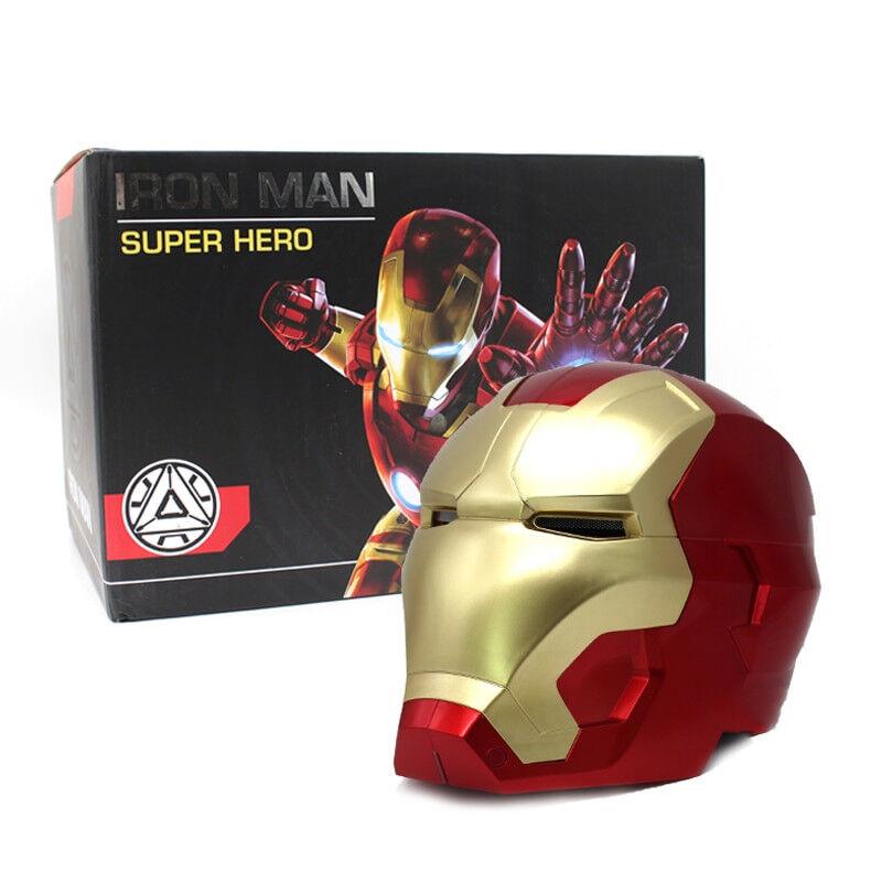 iron man  cosplay helm maske an fernerkundung maske mit led - licht superhelden - serie