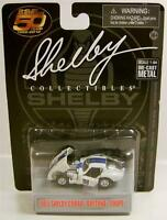 1965 '65 Shelby Cobra Daytona Coupe 98 Diecast 50 Years Collectibles Rare