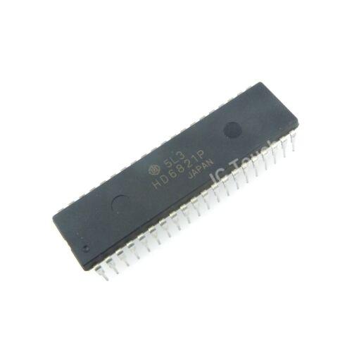 25pcs HD6821P IC PIA Peripheral Interface Adapter HITACHI IC PDIP-40