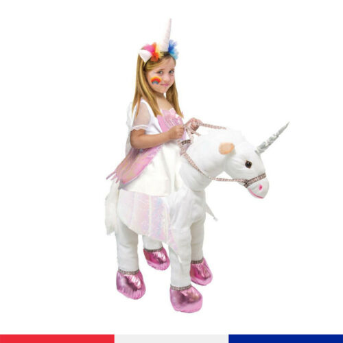 Animal Unicorn Horse Kids Halloween Fancy Outfit Dress Up Costume Ride On