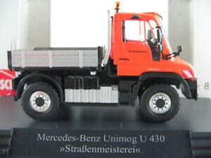 Busch-50911-Mercedes-Benz-Unimog-u-430-2013-034-strasenmeisterei-034-1-87-h0-nuevo-en-el-embalaje