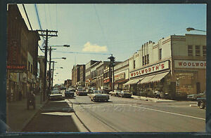 Details about CT Willimantic CHROME 50's MAIN STREET Cars WOOLWORTH'S STORE  by Dexter 57075-C