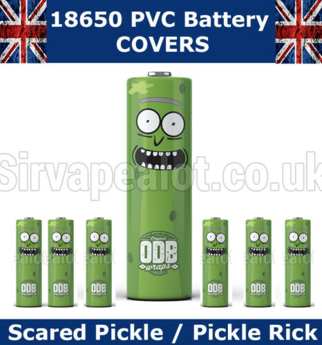 Pikachu 18650 PVC Calor Shrink envoltorio Tapas De Batería Varios Estilos