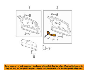 image is loading buick-gm-oem-02-07-rendezvous-liftgate-tailgate-