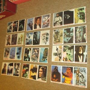 Vintage Star Wars 1981 1983 Burger King Stickers Set Of 4 NEW Empire Strikes Bac