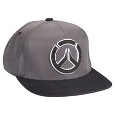 09583adf Authentic OVERWATCH Stealth Embroidered Logo Snapback Hat Grey Black NEW