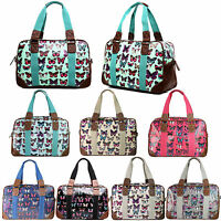 Ladies Large Oversize Maternity Weekend Overnight Luggage Butterfly Hand Bag
