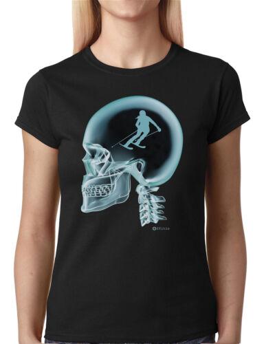 SPORT sur le cerveau tee shirt X-Ray Femmes T-Shirt Choisissez votre sport//EXTREME *