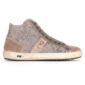 Sneaker scarpa sportiva Nerogiardini A719203D/100 NUOVA COLLEZIONE 2017 zip