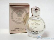 Versace Eros Pour Femme Eau de Parfum EDP Splash Mini .17 oz 5 ml New in Box
