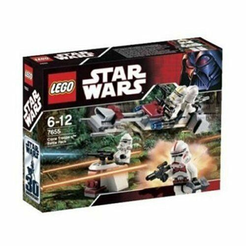 Lego Star Wars Clone Trooper Battle Pack 7655 by LEGO