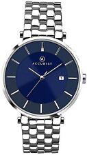 Accurist 7087 Bracelet Blue Dial WR Men's Date Watch, 2 Yr Guarantee RRP £85.00