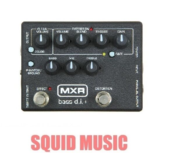 MXR M-80 Bass Direct Box with Distortion D I + 3-band EQ M80 ( OR BEST OFFER )