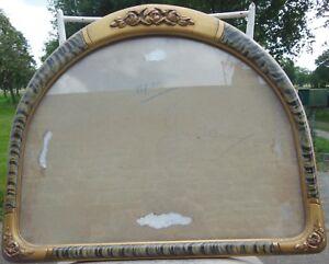 Grand Cadre Art Deco Stylise Encadrement 1930 Gravure Litho ,miroir,57x47 Vitré Vflpbusu-10042207-646497391