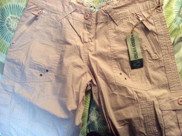 (ref#3) Urban Vintage 3/4 Pantaloni Taglia 12