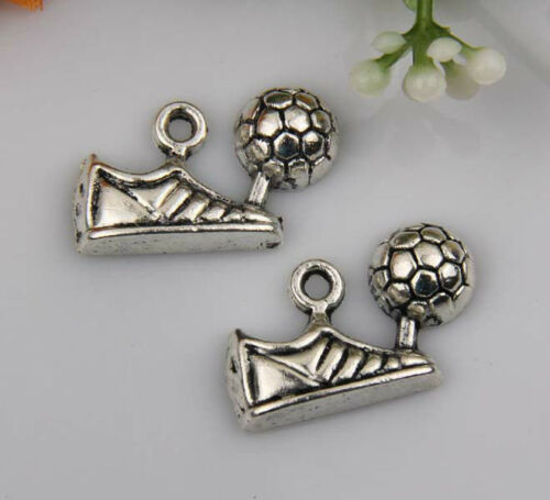 10pcs zinc alloy Shoes charms 25x15mm 1A366