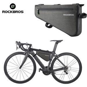 Image Is Loading Rockbros Waterproof Mtb Road Bike Cycling Triangle Large