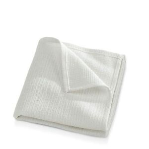 24 WHITE GLASS CLEANING SHOP TOWEL/HUCK TOWELS LINTLESS 15X30 100% COTTON