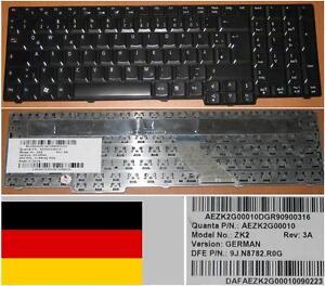 CLAVIER-QWERTZ-ALLEMAND-ACER-6930G-ZK2-9J-N8782-R0G-KB-INT00-319-Noir-Brillant