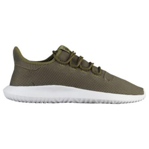 New Adidas Tubular Shadow Knit Uomo Running Training Shoes Olive AC7014