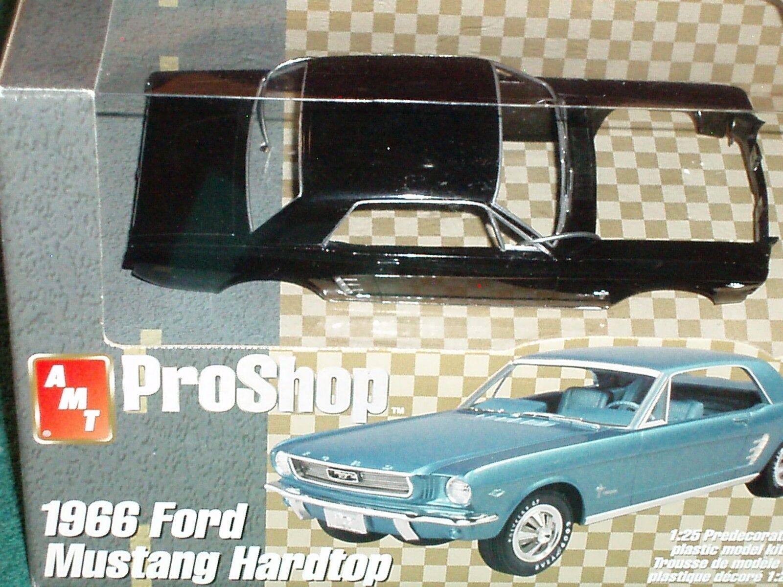 Juguetes Modelo De De De Aluminio Pro Shop 1966 Ford Mustang Coupe 1 25 Prepintado Kit plástico modelo f7bb9e
