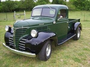 1-Plymouth-camioneta-1940s-Vagon-Hot-Rod-Antiguo-Vintage-Metal-24-Coche-Clasico