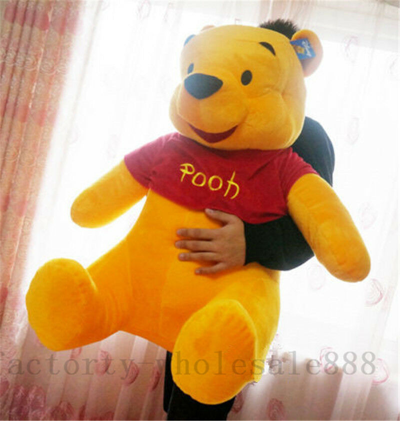 Cute 40  Giant Winnie The Pooh Plush PIllow Soft Toy Stuffed Animal Gift Funny +