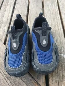 17da38c89aac Teva Proton Water Shoes Navy NEW Little Boys Size 6-Heel to Toe 4 1 ...