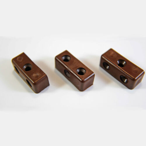 BROWN MODESTY MOD BLOCKS KITCHEN CABINET CUPBOARD FIXING JOINT CONNECTOR BLOCKS