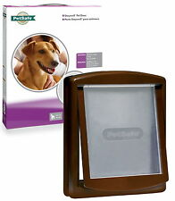 Staywell PetSafe 755 Medium Brown Dog Flap Pet Door Best Selling Brown Dog Door