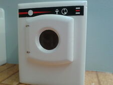 Dolls House Miniatures 1/12th scale Wooden Washing Machine (Black Strip) DF981