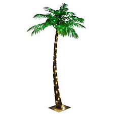 Large FREE2DAYSHIP TAXFREE NEW Lightshare Lighted Palm Tree