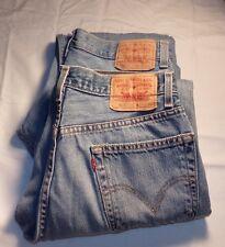 2 Pair Lot Mens LEVI Jeans 33x30 : 505 REGULAR Fit #A-18
