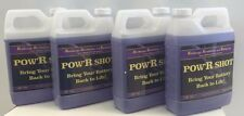 Battery PowR Shot, qty 4- 1 Qt Bottle of Desulfation/Equalizer Battery Fluid