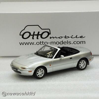 Mazda mx-5 silverstone plata 1990 limitado 999 unid Otto models ot321 1:18 nuevo