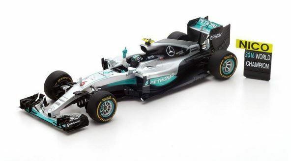 forma unica 1 18 Mercedes F1 W07 Abu Abu Abu Dhabi Nico 2016 F1 World Champion  prezzi all'ingrosso