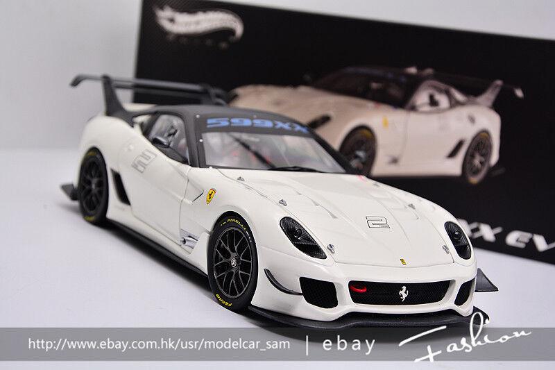 Hot Wheels Elite 1 18 Ferrari 599XX Evo  2