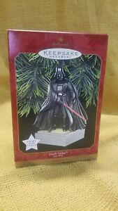 Darth Vader Star Wars 1997 HALLMARK Keepsake Ornament Light and Voice Magic