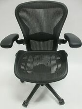 Herman Miller Aeron Chair Size B In Excellent Condition Manufactured In 2014