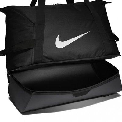 Nike Academy Team Base Duffel Borsone Palestra Calcio Sport Borsa Extra Storage Blk-mostra Il Titolo Originale