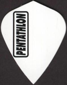 White-PENTATHLON-Kite-Dart-Flights-3-per-set